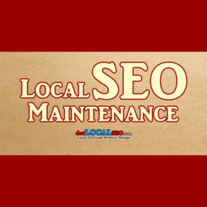 Local SEO Maintenance Package