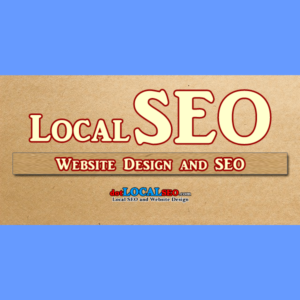 3 Page Webdesign and Local SEO